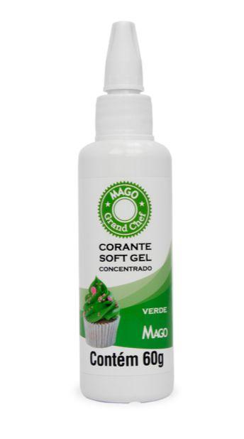 Corante Sof Gel Verde Mago 60g