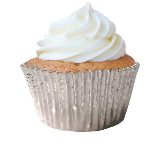 Forminha Cupcake Prata Nº0 c/ 45 unid