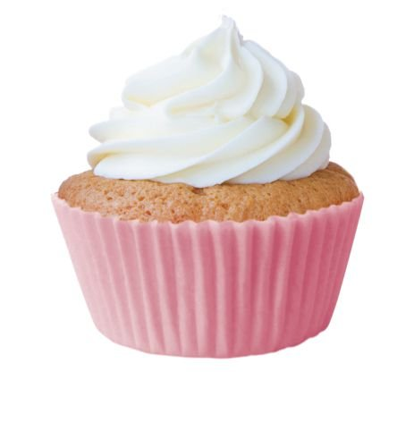 Forminha Cupcake Rosa Bebe Nº0 c/ 45 unid