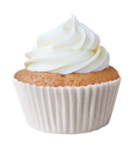 Forma Mini Cup Cake Branca Nº 02 Mago c/ 45 unid