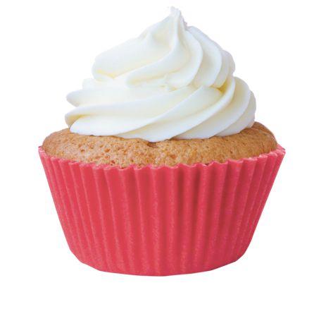Forma Mini Cup Cake Rosa Flamingo Nº 02 Mago c/ 45 unid
