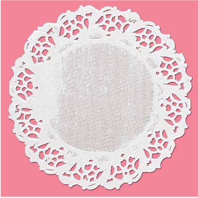 Toalha Rendada Cartela Branco Mod.110 Mago c/ 24 unid