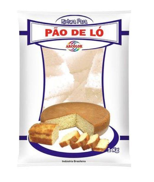 Mistura para Pão de Ló Arcolor 1kg