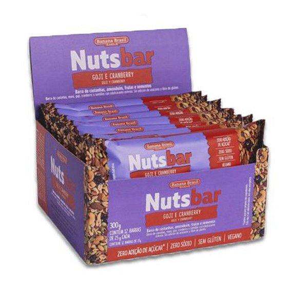 Nuts Bar Goji e Cranberry 300g