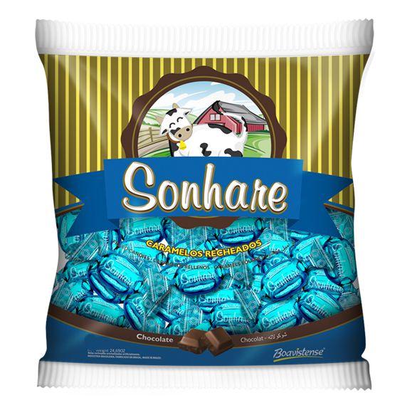 BALA SONHARE SABOR CHOCOLATE 600g - BOAVISTENSE