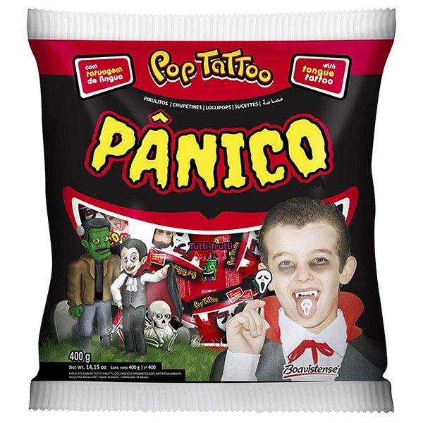 Pirulito Panico Tattoo Boavistense 400g