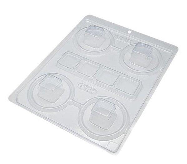 Forma Silicone Mini Caixa Quadrada BWB 856