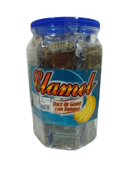 CLAMEL DOCE GOMA COM BANANA 20 UNIID.