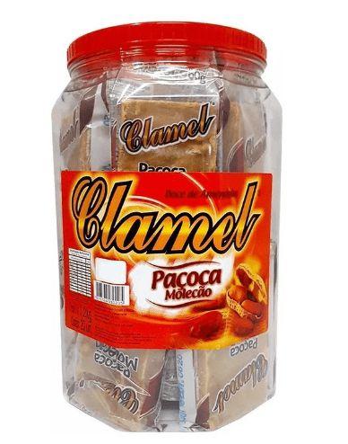 Paçoca Molecão Clamel 1,2Kg