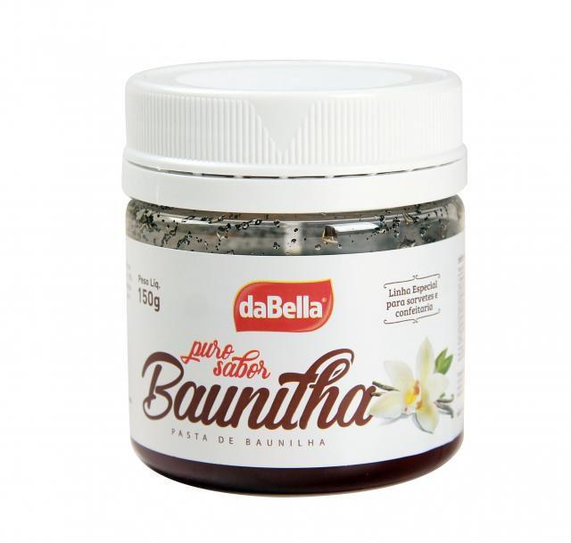Pasta Puro Sabor Baunilha DABELLA 150g