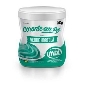 Corante em Pó Verde Hortelã MIX 100G