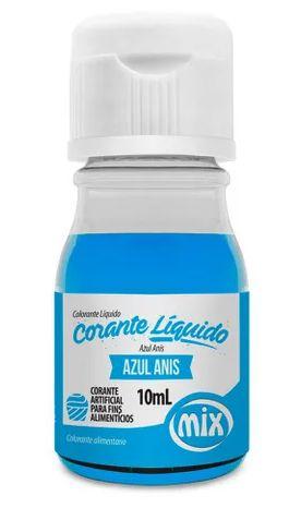 Corante liquido Azul Anis MIX 10ml