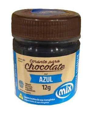 Corante Gel para Chocolate Azul MIX 12g