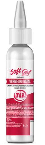 Corante Soft Gel Vermelho Natal MIX 25g