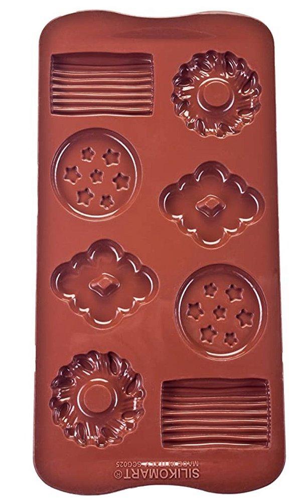 Forma Silicone Biscoito Silikomart