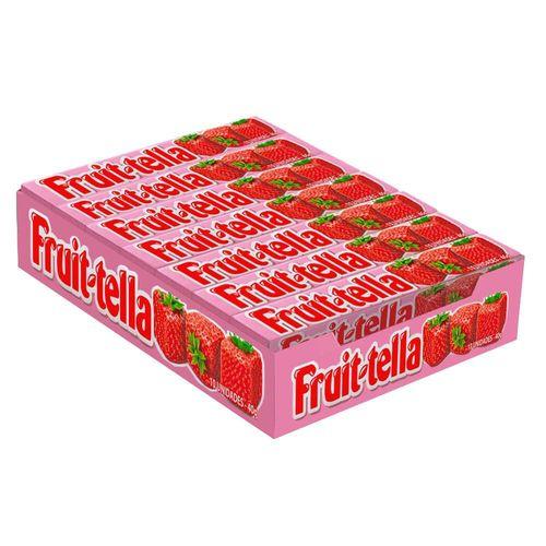 Bala Mastig. Fruit-Tella Morango Perfetti 640g