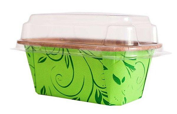 Embalagem Plumply P Verde c/ tampa 100g Sulformas 5 unid.