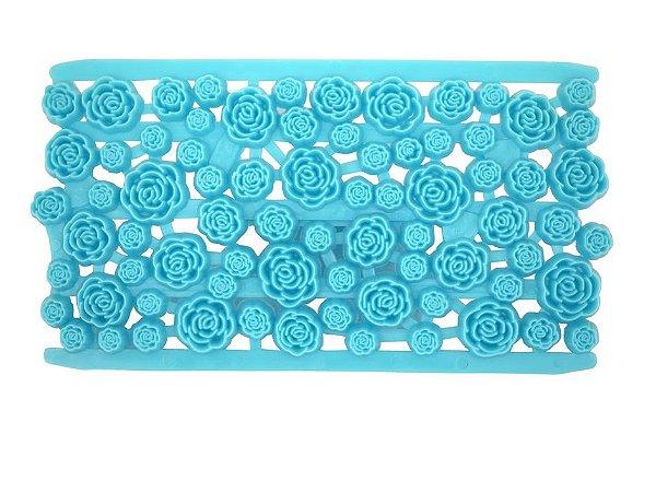 Marcador de Texturas Flores 8,5x15,5cm Yazi