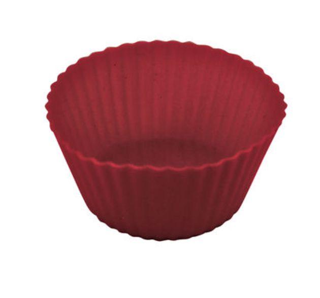 Forma Cupcake Redonda Silicone 6 unid Yazi