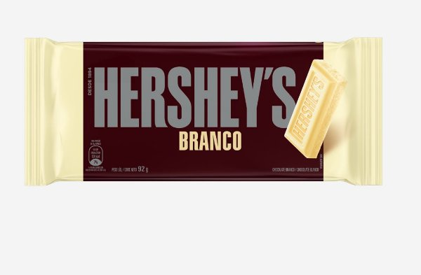 Tablete Chocolate Branco Hershey's 92g