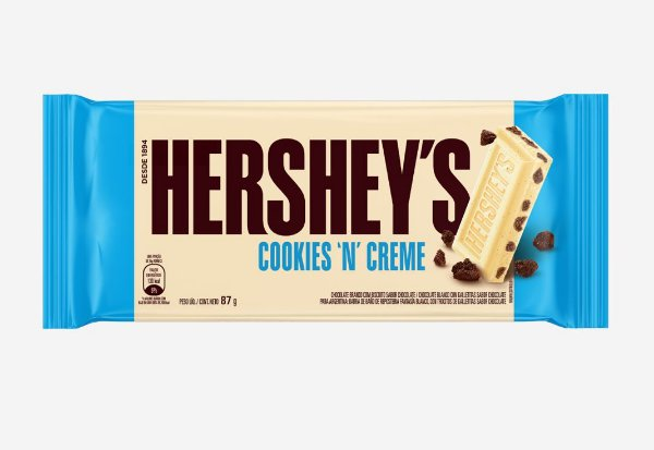 Tablete Chocolate Cookie n' Cream Hershey's 87g