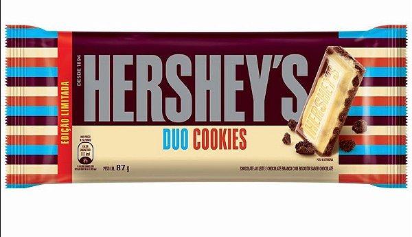 Tablete Chocolate Duo Cookie Hershey's 87g