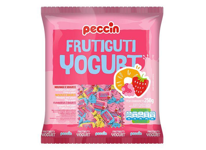 Bala Frutiguti Yougurt Peccin 400g