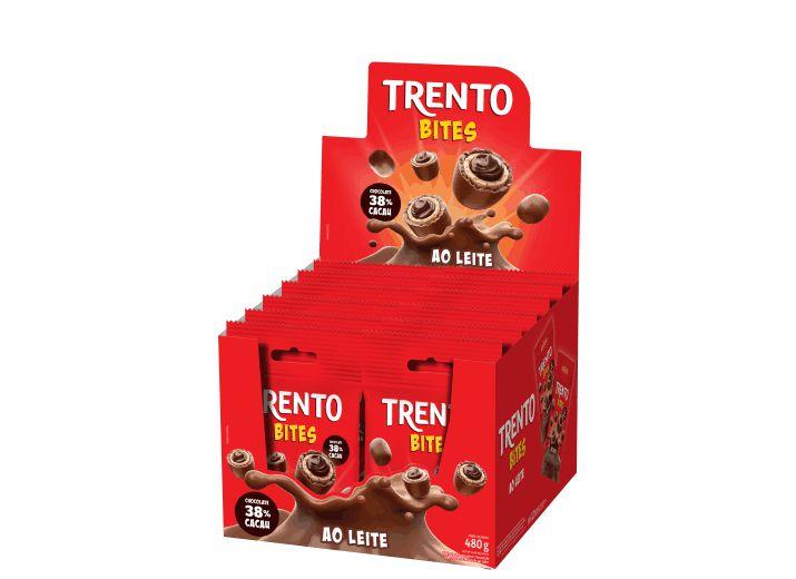 Trento Bites Ao Leite Peccin 480g