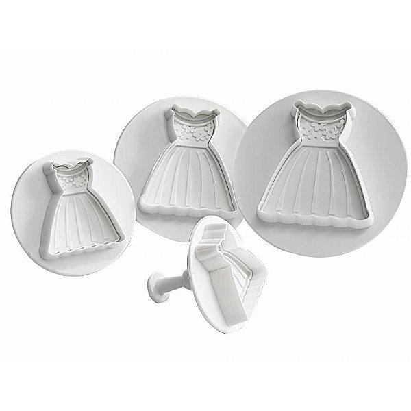 Ejetor em Plástico Vestidos 4peças Prime Chef