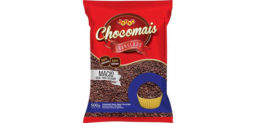 Granulado Macio Chocomais Jazam 500g