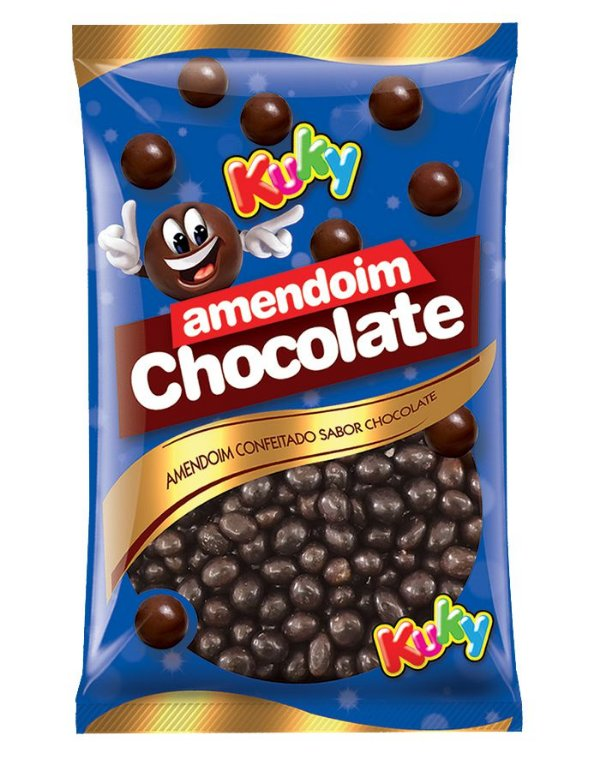 Amendoim Chocolate Kuky 500g