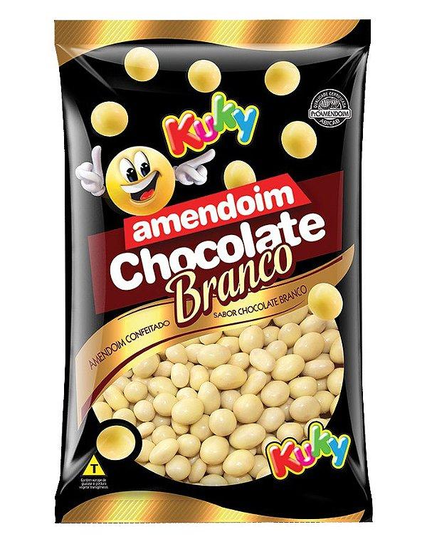 Amendoim Chocolate Branco Kuky 500g