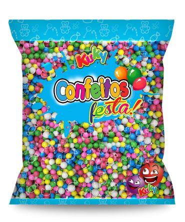 Confeitos Festa Sortidos Kuky 500g