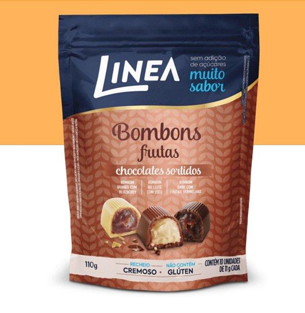Bombons Sortidos Frutas Linea 110g