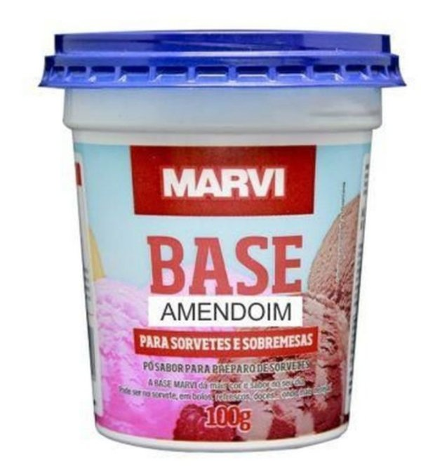 MARVI BASE AMENDOIM 100G