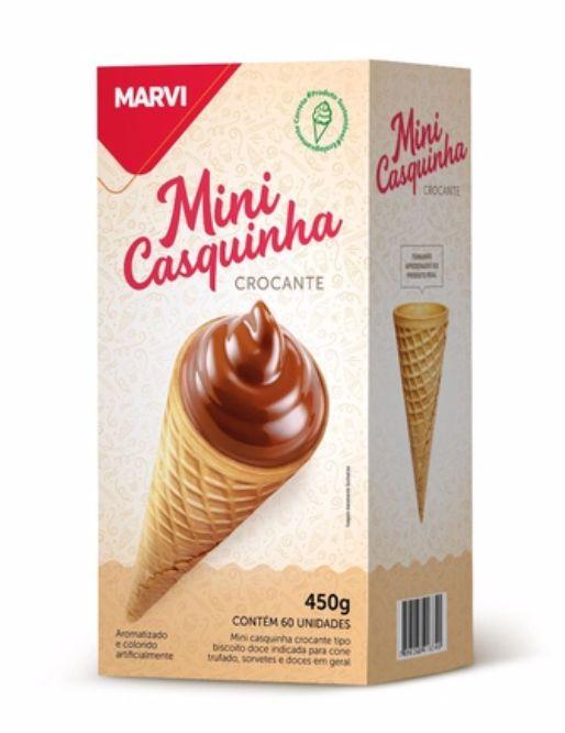 Mini Casquinha Marvi 450g c/ 60 unid.