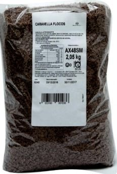 Flocos de Chocolate Meio Amargo Caravella 2,05 kg