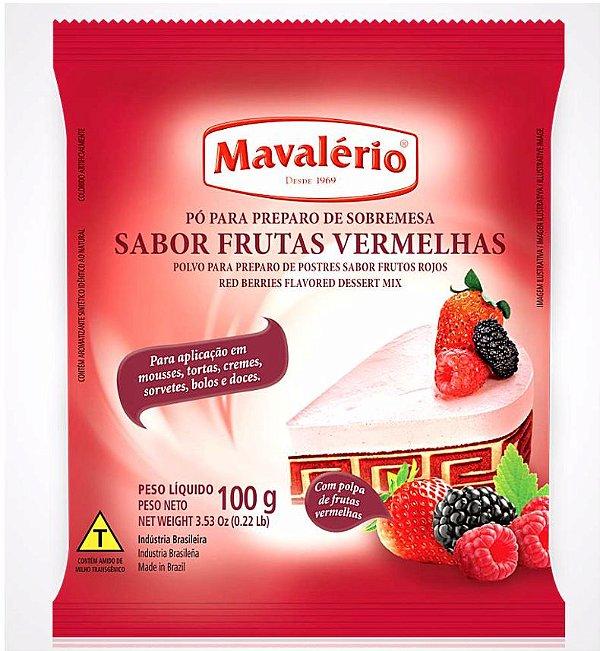 MAVALERIO PREPARO SABOR FRUTAS VERMELHAS 100G