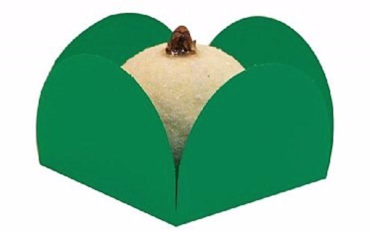 Caixinha Verde Bandeira 48 unid.