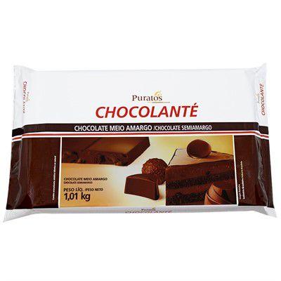 Chocolate Chocolanté Meio Amargo Puratos 1,01kg