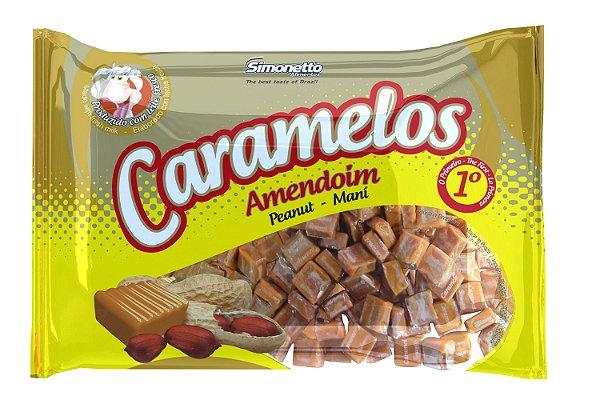 Caramelo Amendoim Simonetto 600g