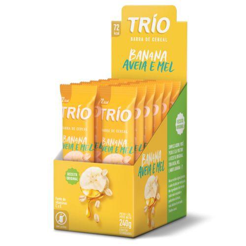 Trio Banana Aveia e mel 240g