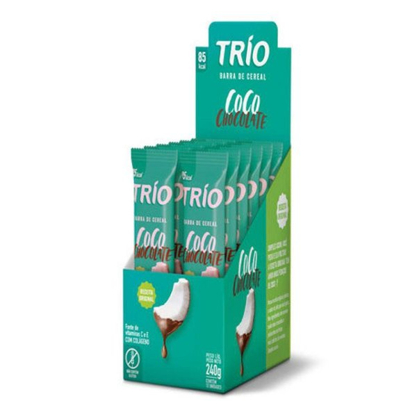Trio Coco com chocolate 240g