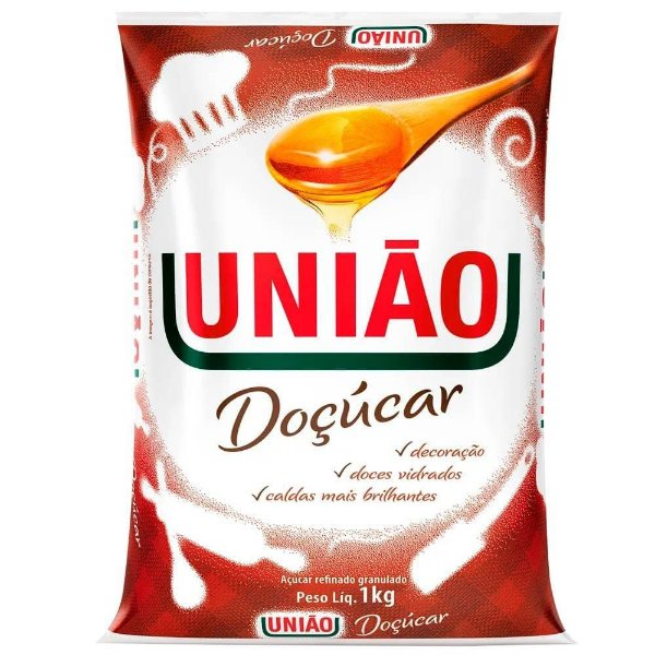Açúcar Granulada Doçúcar União 1kg
