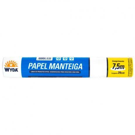 Papel Manteiga WYDA 7,5mx29cm