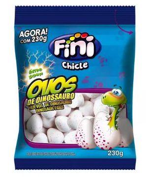Chiclete Ovos de Dinossauro Acídos 230g