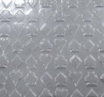Placa de Textura Naipes BWB 50cm x 23cm