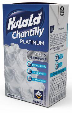 Creme Chantilly Platinum Hulalá 1Litro