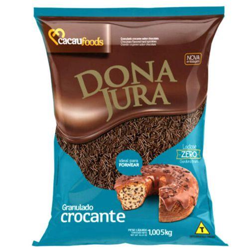 CHOCOLATE GRANULADO CROCANTE DONA JURA 1,005kg - CACAU FOODS
