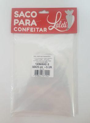 Saco Para Confeitar G Laleti 50cm x 25cm c/5